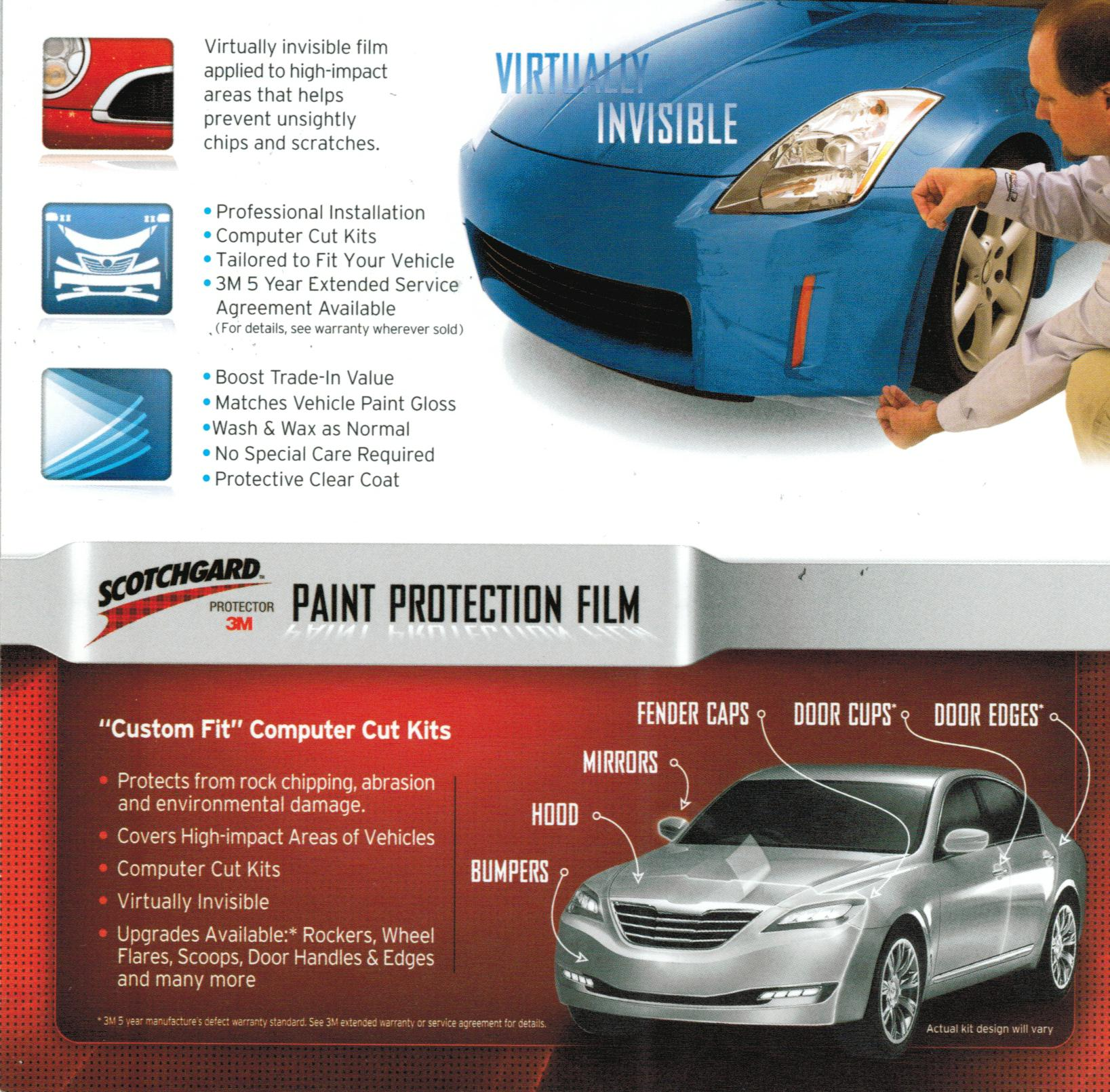 paint film protection car auto body services