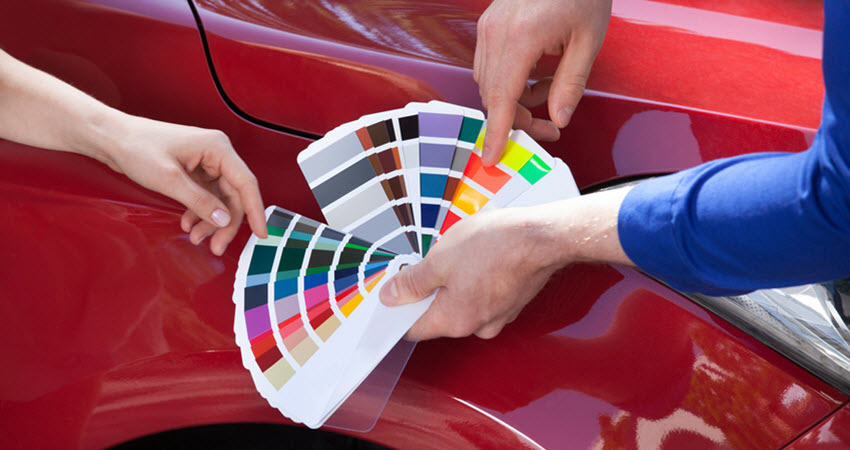 Choosing Car Exterior Paint Color