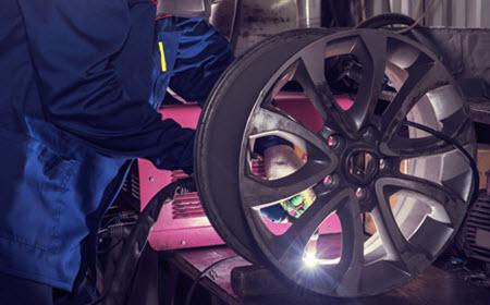 Wheel Welding