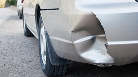 Car Bumper Dent